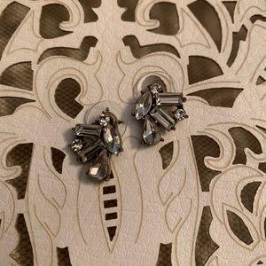 J. Crew Stone Cluster Stud Earrings